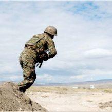 Մարտական դիրքում զոհված զինծառայողը զինվորական կարգով հուղարկավորվեց հայրենի գյուղում