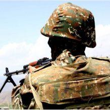 Ադրբեջանի կրակոցից ՀՀ ՊՆ զինծառայող է վիրավորվել