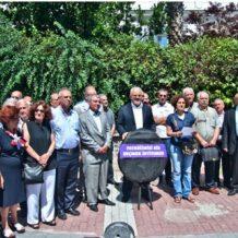 Թուրքիայի հայ համայնքի անդամները պատրիարքարանի դիմաց բողոքի ցույց են կազմակերպել