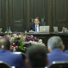 ՀՀ վարչապետը հանձնարարականներ է տվել կրթության ոլորտի և գնումների գործընթացի բարեփոխումների վերաբերյալ