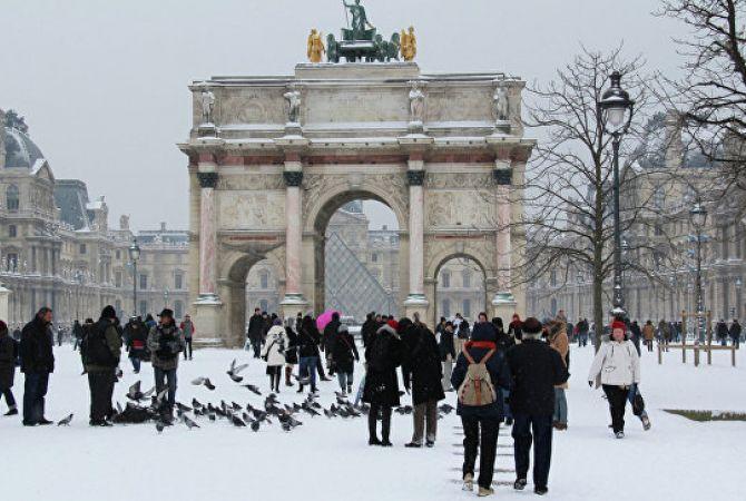 5 միլիոնով պակաս զբոսաշրջիկներ են Փարիզ այցելել 2015 թվականի....