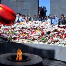 Հայերը երբեք չեն մոռացել պատմության սարսափելի էջերը. Մարսելում հարգել են Ցեղասպանության զոհերի հիշատակը