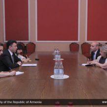 ՀՀ ԱԺ փոխնախագահ Շարմազանովն ընդունել է Հունաստանի դեսպանին