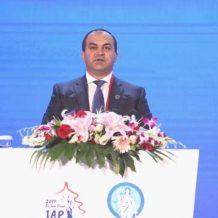 ՀՀ գլխավոր դատախազը ելույթ է ունեցել Դատախազների միջազգային ասոցիացիայի 22-րդ համաժողովին