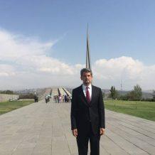 Կարո Փայլանը Հայաստան այցի առաջին օրը եղել է Հայոց ցեղասպանության հուշահամալիրում