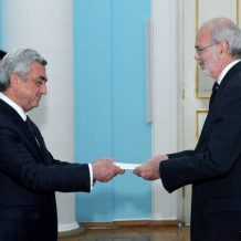 Կոլումբիայի նորանշանակ դեսպանը հավատարմագրերն է հանձնել Հայաստանի Նախագահին