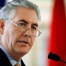 ԱՄՆ պետքարտուղար Թիլերսոնը մտահոգություն է հայտնել Սիրիայի Աֆրինում տեղի ունեցող իրադարձությունների վերաբերյալ