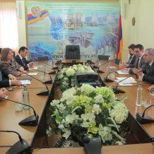 Նախարարը հանդիպել է Հայաստանում և Վրաստանում Միացյալ Թագավորության  առևտրի  և ներդրումների հարցերով հանձնակատարին