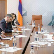 Բուլղարիայի գործարար պատվիրակության հետ քննարկվել են հայ-բուլղարական գործարար կապերը