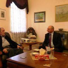 Լեւոն Տեր-Պետրոսյանն ընդունել է Արցախի նախագահին. քննարկվել է Հայաստանի ներքաղաքական իրավիճակ