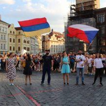 «Բերդ» Պրահայի կենտրոնում. հայ երիտասարդներն Առաջին Հանրապետության 100- ամյակին նվիրված միջոցառում են նախաձեռնել